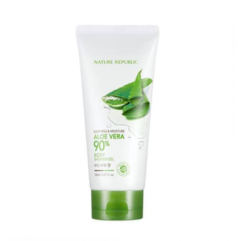 SOOTHING & MOISTURE ALOE VERA BODY SHOWER GEL, 200 мл