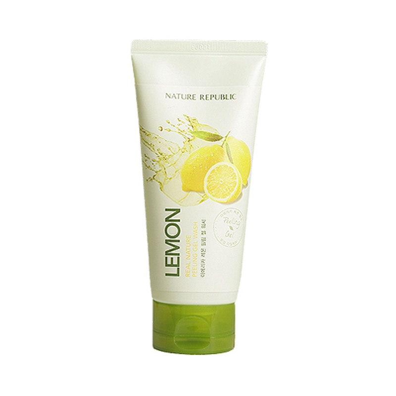 Real Nature Lemon Peeling Gel Wash