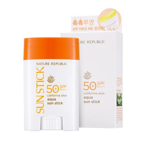 California Aloe Aqua Sun Stick Spf50+ Pa++++, 22гр.