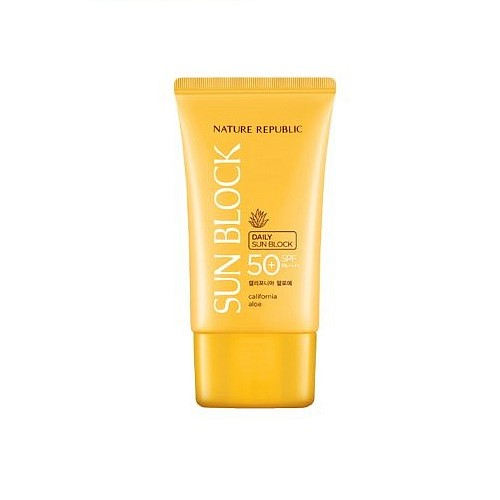 California Aloe Daily Sun Block SPF 50 PA, 57 мл.