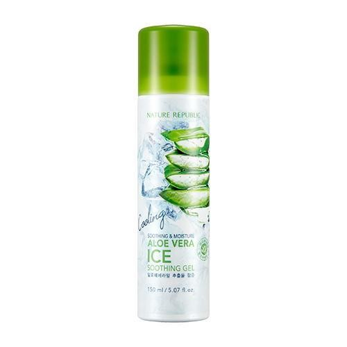 SOOTHING & MOISTURE ALOE VERA ICE SOOTHING GEL, 150 мл