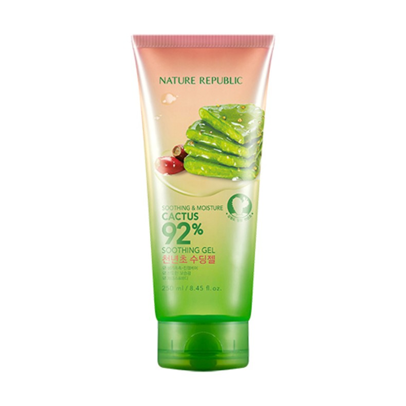 Soothing and Moisture Cactus 92% Soothing Gel, 250 мл.