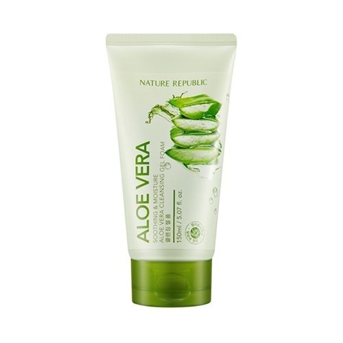 Soothing&Moisture Aloe Vera Cleansing Gel Cream, 150 мл.