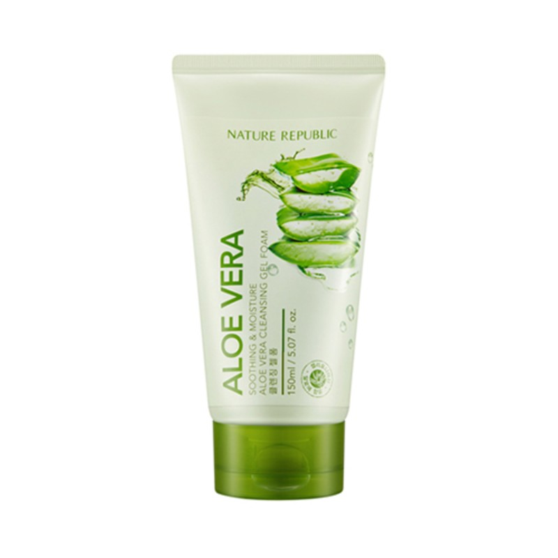 Soothing&Moisture Aloe Vera Cleansing Gel Foam, 150 мл